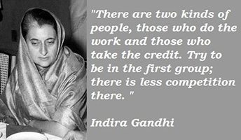 Indira Gandhi - Lessons in Leadership from MOM | Community Vision