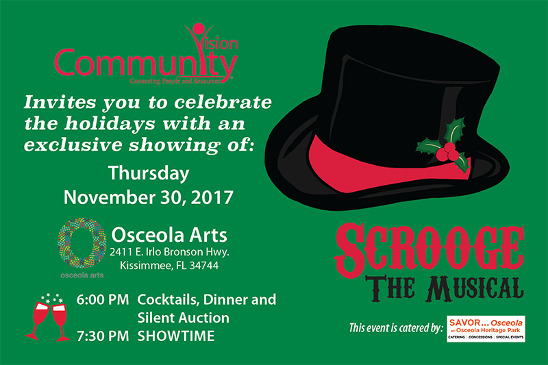 Scrooge the Musical at Osceola Arts